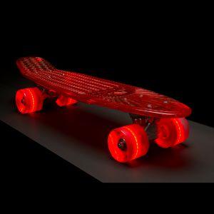 Sunset Skateboards Life Guard red clear skateboard