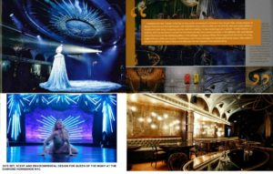 """Douglas Little/Set, Scent & Environmental Design """"Queen of the Night"""" NYC"""