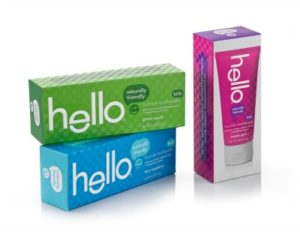 friendly branding with hello oral care