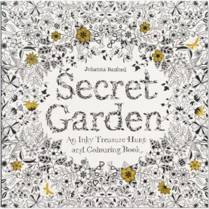 adult coloring book the secret garden