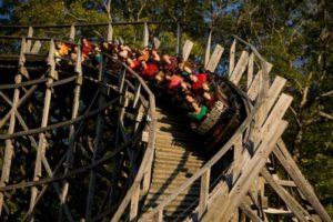 Thunderhead coaster at Dollywood amusement parl