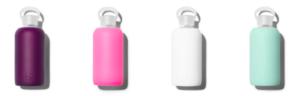 3 favorite brands colorful water bottles