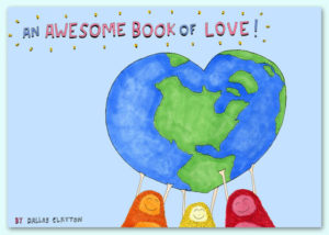 dallas clayton awesome book of love cover
