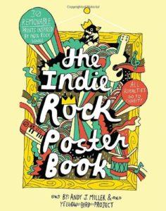 indie rock poster book adult coloring book