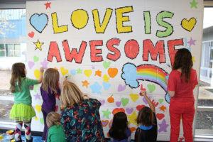 dallas clayton love is mural