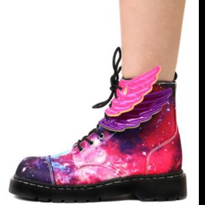 3 favorite brands shwings pink and purple wings