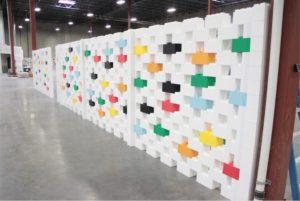 everblock plastic blocks wall