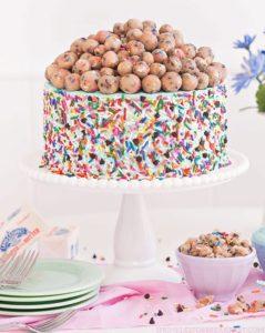 sprinkles for breakfast confetti cake