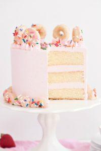 sprinkles for breakfast donut cake