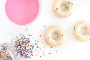 sprinkles for breakfast donut frosting