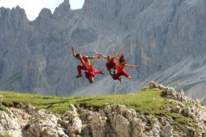 Bandaloop mountain dance