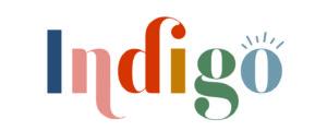 indigo brand logo design