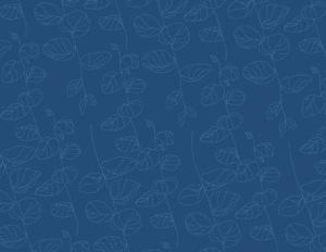 Indigo salon blue pattern